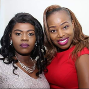Betty Bayo Poses For A Photo With Mary Lincoln