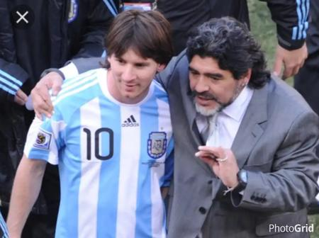 Check Out What Maradona Onced Said To