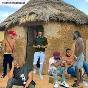 When Celebrities lives in the same Hut together for the first time - See 11+ Funny Pictures For Fun