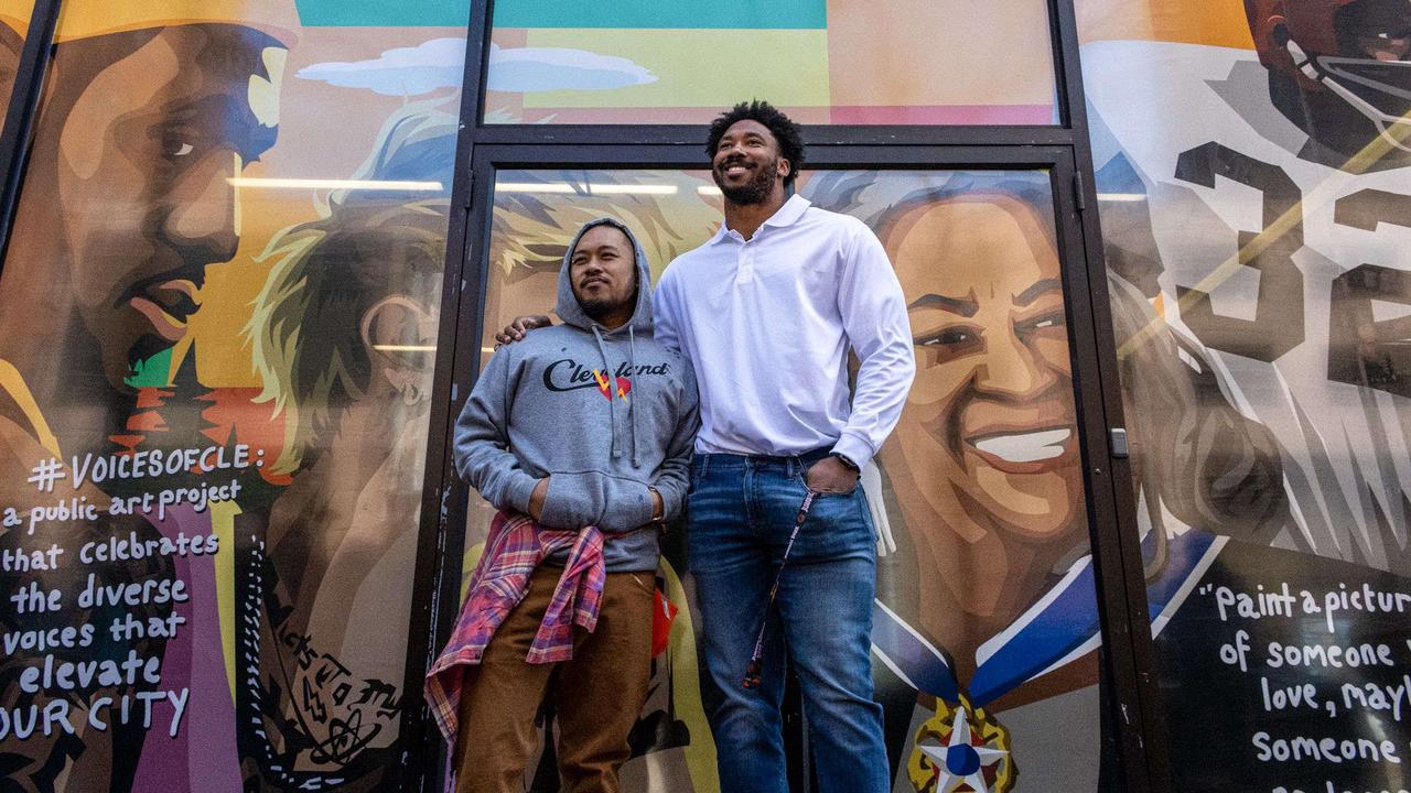New #VoicesofCLE work commissioned by Browns' Myles Garrett