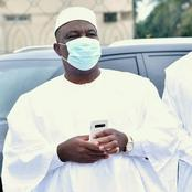 Voici la photo du ministre Adjoumani qui charme les internautes ce vendredi