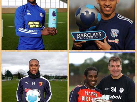 Meet 4 Nigerian Footballers Who Has Won The Premier League Player Of The Month Awards