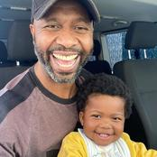 Do you remember the legendary football star Lucas Radebe? See his recent pictures.