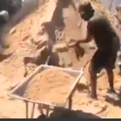 Ulienda Mjengo? Kenyans Wonder After A Video Of Sonko Working In a Construction Site Surfaces Online