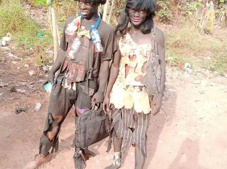 Funny pictures emerge online as Oko Polytechnic students celebrate rag day