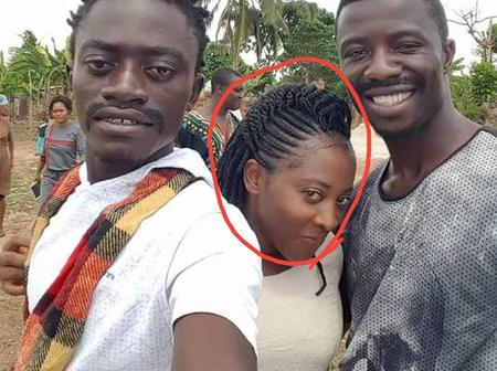 Who remembers the lady between Kwaku Manu and Lil Wyne? - See her throwback and recent pictures