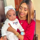 Checkout These Lovely Photos Of Regina Daniels And Her Baby