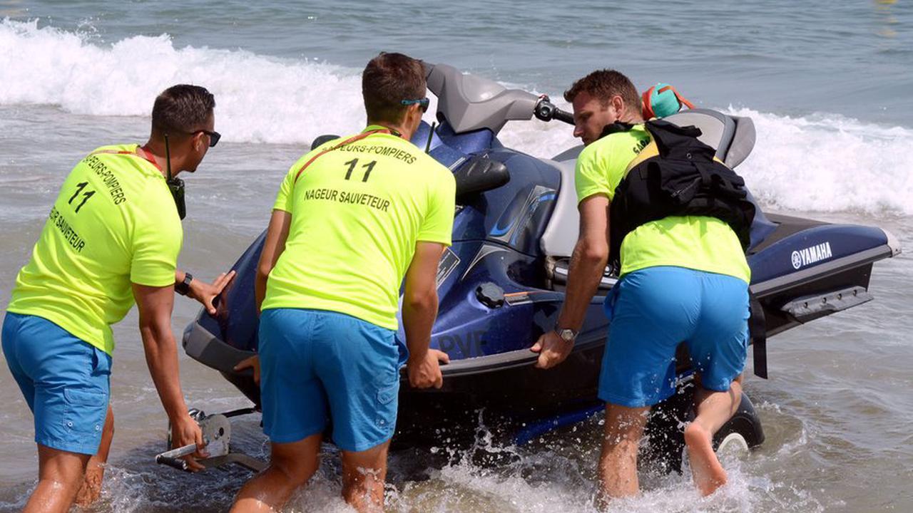 Houle sur le littoral audois : deux hommes noyés, Leucate interdit la baignade