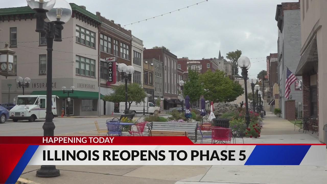 Illinois lifts most COVID restrictions and 'fully reopens' today