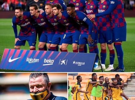 Gavin Hunt compares Kaizer Chiefs to Barcelona