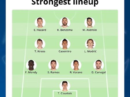 UCL Preview: The Strongest Possible Lineup For Real Madrid & Shakhtar Donetsk At Santiago Bernabeu