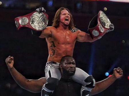 Lagos-born WWE Wrestler Becomes Second Nigerian to Win WWE Title