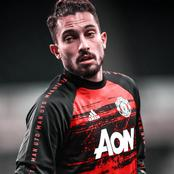 Bruno Fernandes Looses Cool with Alex Telles on Man United Training Session