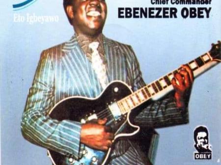 Ebenezer Obey and his popular album