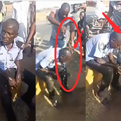 See What Civilians In Broad Daylight Were Caught Doing To A Drunk Policeman That Got People Talking