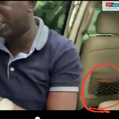 See What Was Spoted in Oscar Sudi's Car When He Was Found In Echesa's Compound