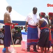 Raila Installed As Duruma Elder