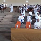 Seminarians of the major seminary celebrates 24th matriculation of their new students