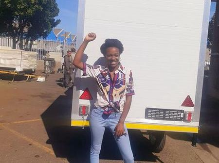 A woman being supported by funding trailers for her business is now excelling.
