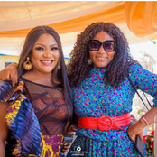 Photos Of Chacha Eke, Destiny Etiko And Many Others With Queen Nwokoye On Movie Set