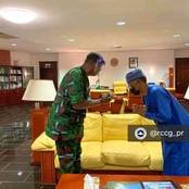 Photos: Adeboye Meet El-Rufai After His Visit To The Abducted Christians Who Regained Freedom