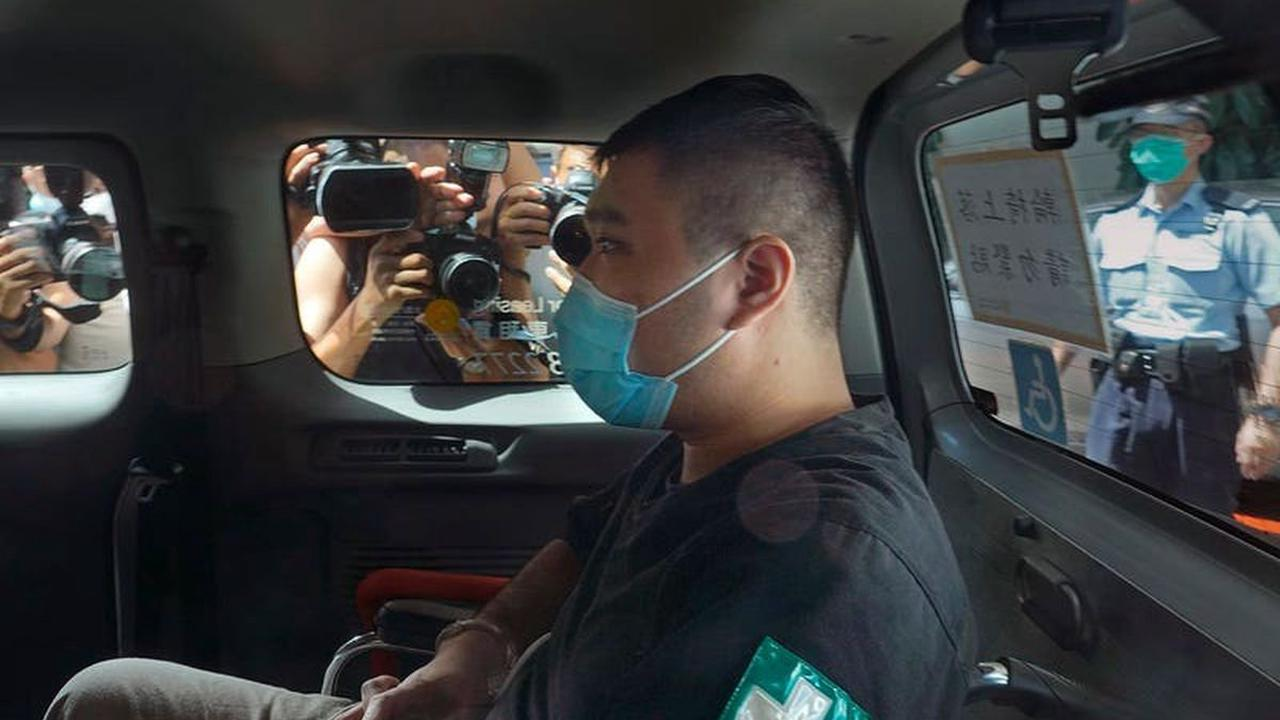 Hong Kong pro-democracy protester sentenced to nine years in jail