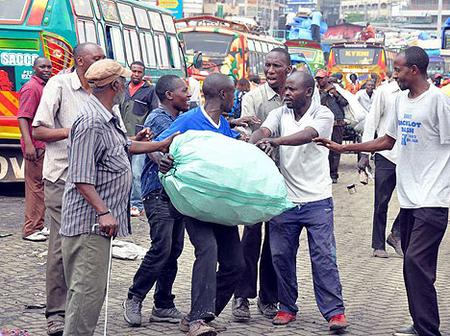 The Dangerous Machakos Country Bus Terminus As This Is What Actually Happens There