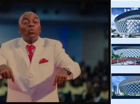 Check Out Photos of The ₦50Billion, 400,00 Sitter Church Auditorium David Oyedepo Is Building.