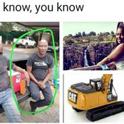 Here Is The Man Who Demolished His Girlfriend's House After She Broke Up With Him (Photos Inside)