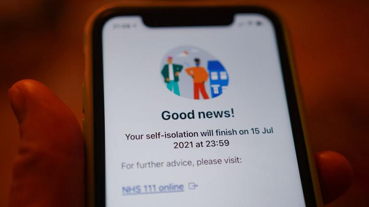 COVID-19: NHS Test and Trace app being updated to ping fewer people to isolate