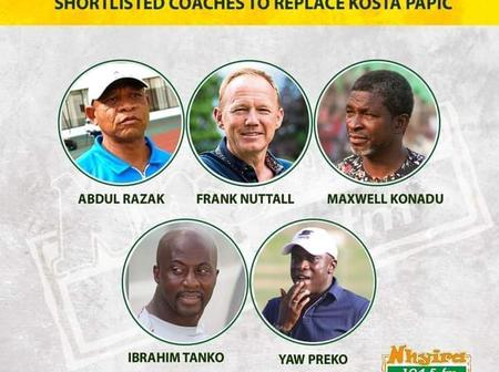 Opinion: Hearts of Oak to select one of these to replace Papic, which one do you think deserves?