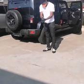Gabuza Slays Them With A Big Jeep! [See Pics]