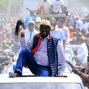 Raila Odinga And Hassan Joho Attracts Huge Crowds During BBI Rally In Mombasa