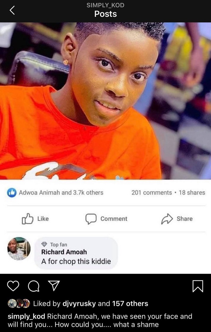 d48484e1b4ba3f8f90b0becb9273d4f5?quality=uhq&resize=720 - Ghanaian Celebrities React After Ghanaian Man Said He Must 'Chop' 12-year-old DJ Switch