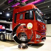 Le Faw Jiefang J7 élu camion chinois de l'année 2019