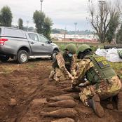 Big Scare at Top European Club after Unexploded World War 2 devices Found at Club's Training ground.