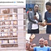 Reactions as Prophet Jeremiah Omoto Fufeyin gives his workers a cash gift worth over ₦10 million