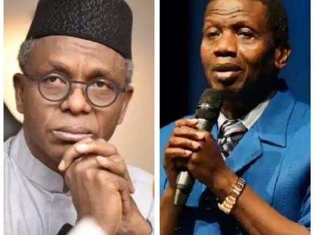 Today's Headlines: Pastor Adeboye Meets El-Rufai In Kaduna, IPOB condemns the newly created joint security outfit