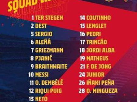 FC Barcelona vs CA Osasuna : Opposition Analysis