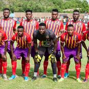 Hearts of Oak players receive Increment in Winning Bonus.