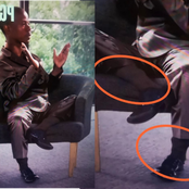 AmaBishop: Fans spotted something inside the socks Mboro was wearing last night