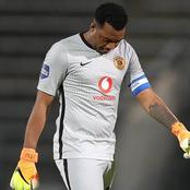 'I Won't Repeat Such Mistake Again', Khune Send Strong Message To Gavin Hunt Ahead Of Big Match