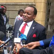 """""""Kwani Kinoti Anatuacha Kwa Mataa?"""" Kieleweke MPs Allegedly Laments"""