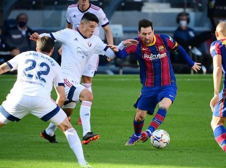 See how Lionel Messi paid his tribute to Diego Maradona on the pitch that got people talking.