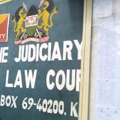 A Man Accused Of Slitting The Throat Of His Son Appears In Kisii Law Court