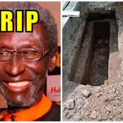 The Nollywood Actor That Died Yesterday, Check Out Where He Will Be Buried