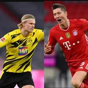 Lewandowski is unstoppable, checkout the Bundesliga top scorers chart after he and Haaland scored