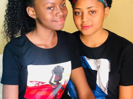 Regina Daniels Does Not Look Like Her Younger Sister, See Some Of Their Pictures