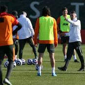 See Who Is Back At Training Today, As Manchester United Get Ready For Crystal Palace Clash