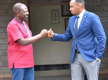 DP William Ruto Holds a Meeting With a Renown ODM Politician From Nairobi County